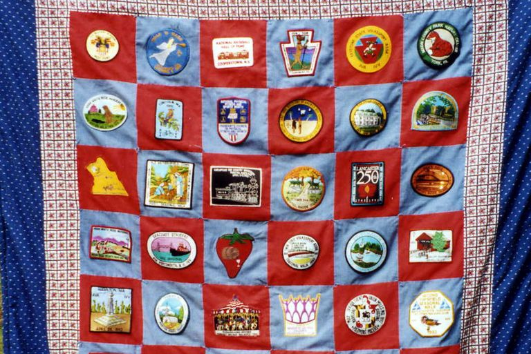 Walking Memory Quilt - Patches