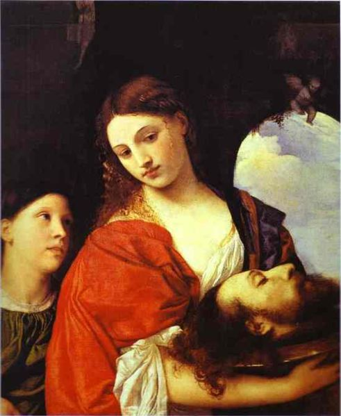 Salome with the Head of John the Baptist by Titian, c. 1515.