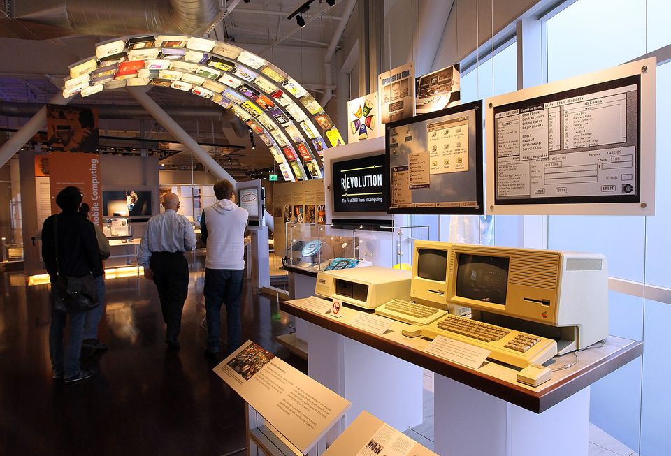 Exhibit at the Computer History Museum