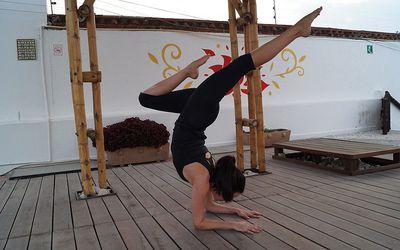 tripod headstand or salamba sirsasana ii