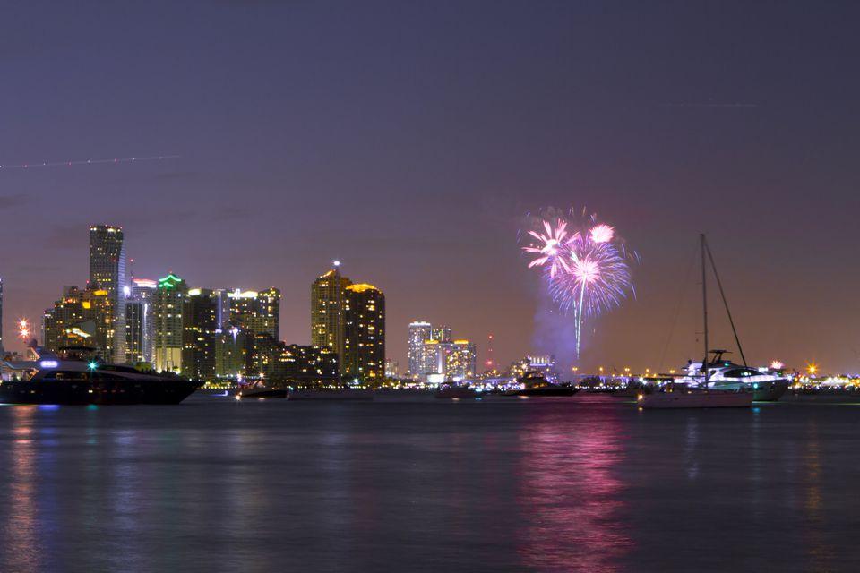 Miami Fireworks 2012