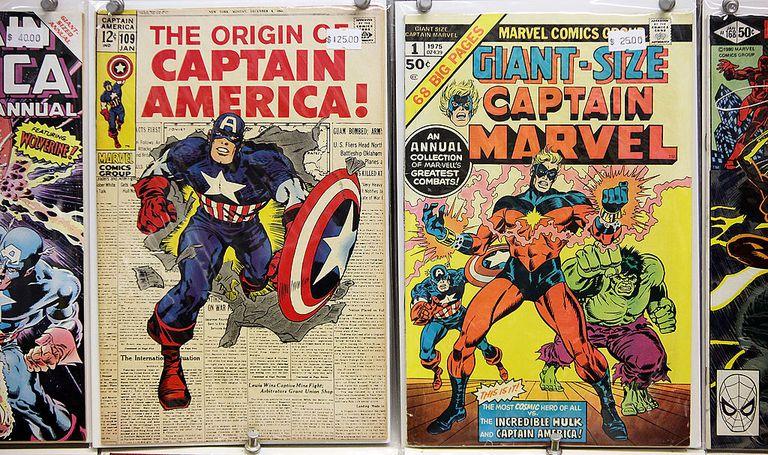 Vintage comics for sale