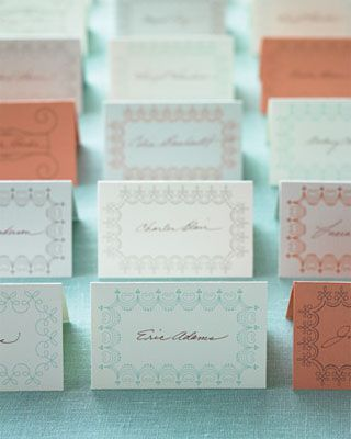 8 sets of wedding place card templates solutioingenieria Images
