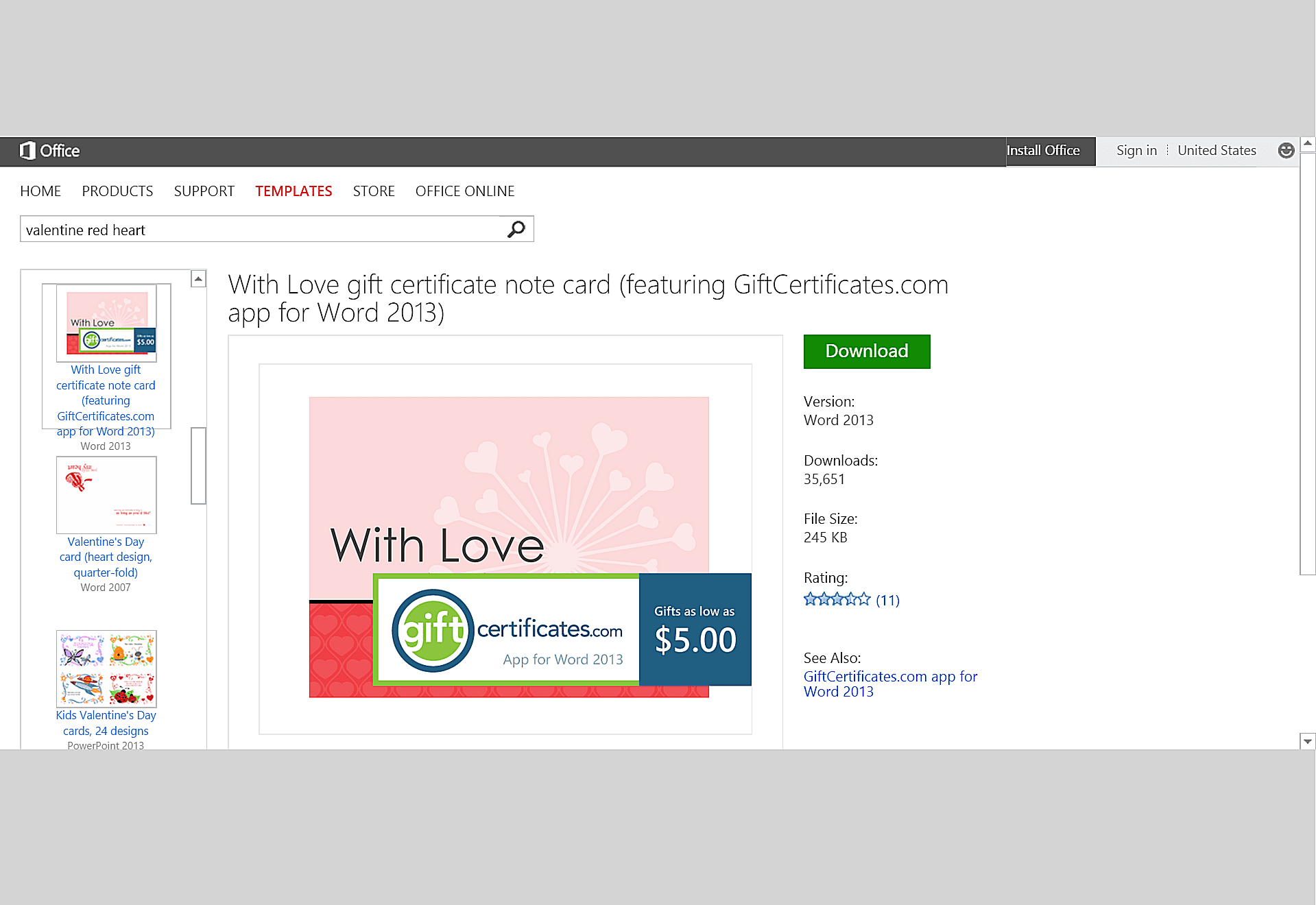 Free valentines day templates for ms office yadclub Image collections
