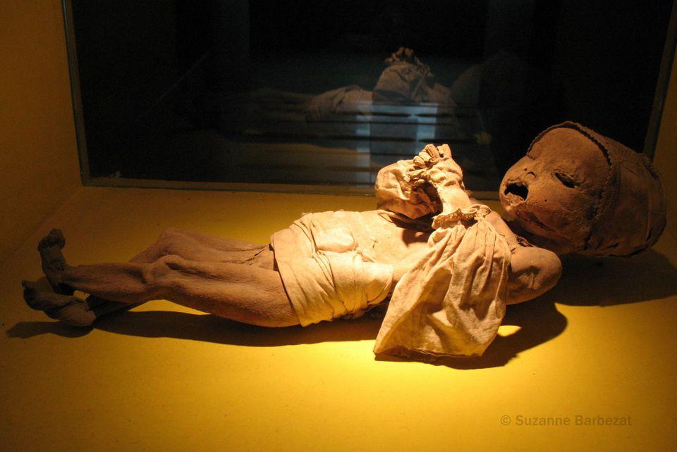 Baby Mummy in Guanajuato