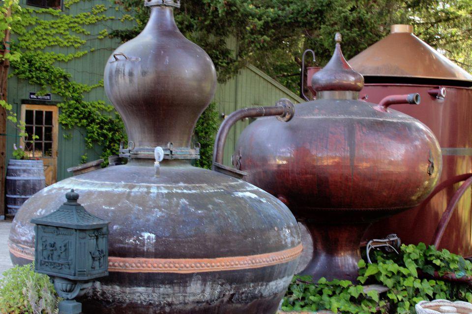 Charbay Distillery's Still House in the Napa Valley