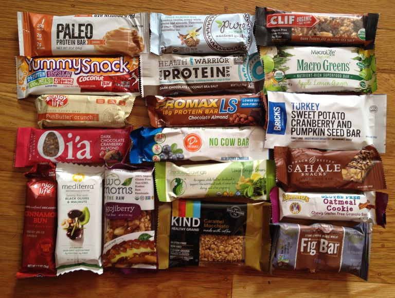 popular meal and snack bars 2015