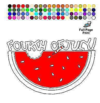 Apples 4 The Teachers Printable 4th Of July Coloring Pages
