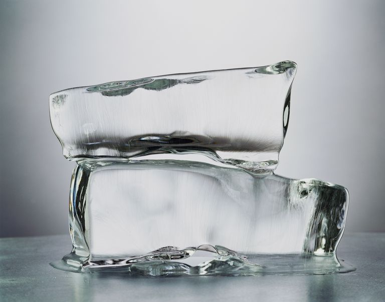 Salt prevents water from freezing into ice. As more ice melts, the salt water gets colder but doesn't freeze.