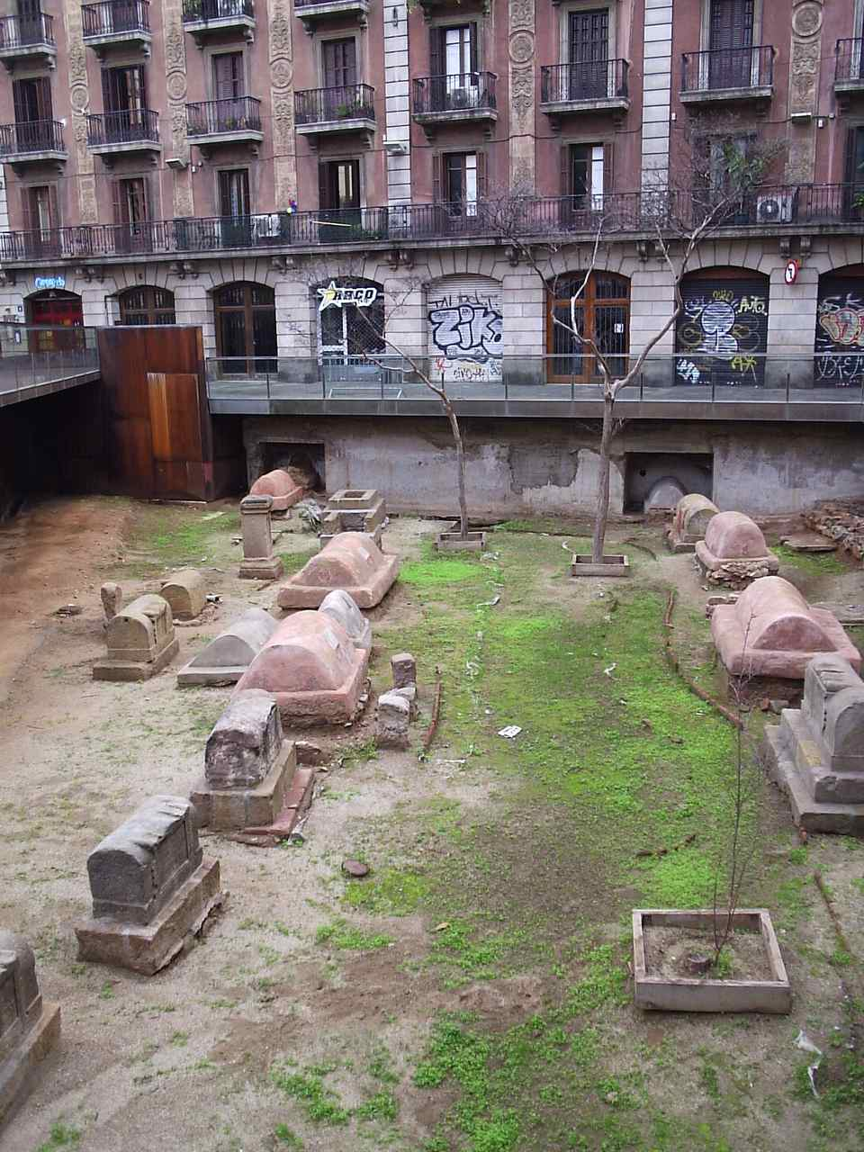 Roman burial ground in Barcelona