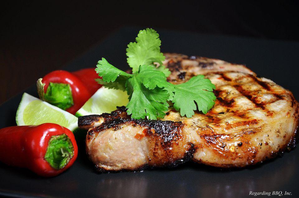 Cuban Style Pork Chop