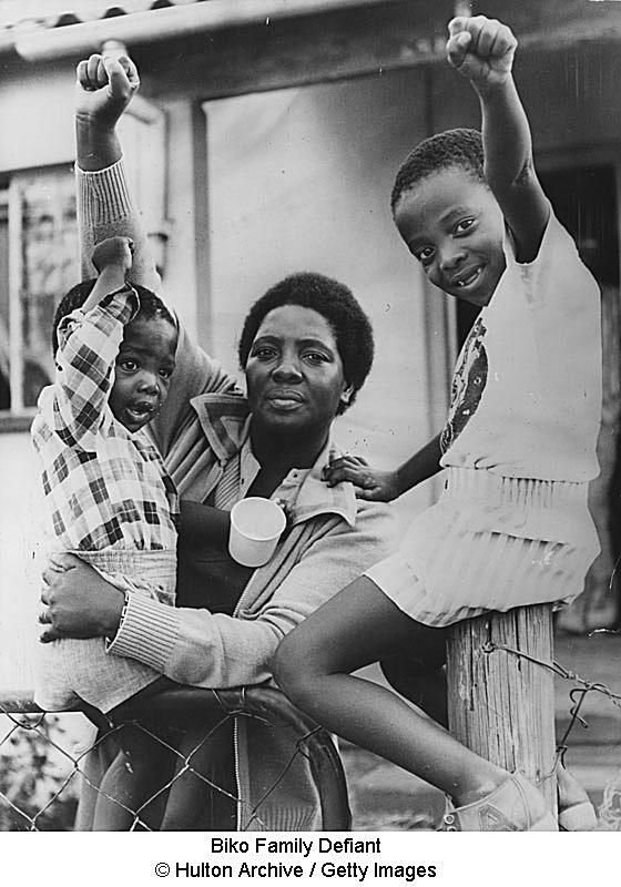 Biko Family Defiant © Hulton Archive / Getty Images