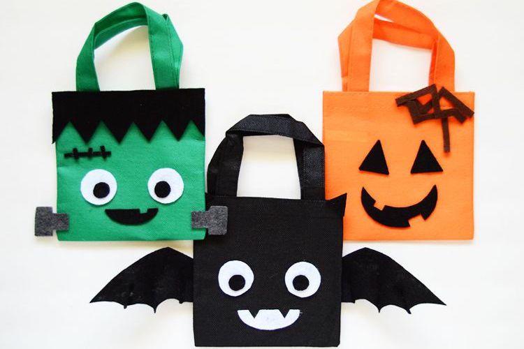 8 DIY Trick-or-Treat Bags
