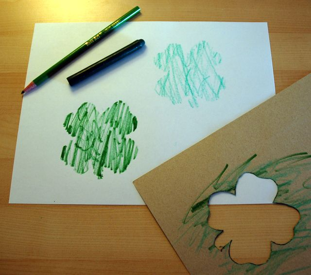 St. Patrick's Day Stencils