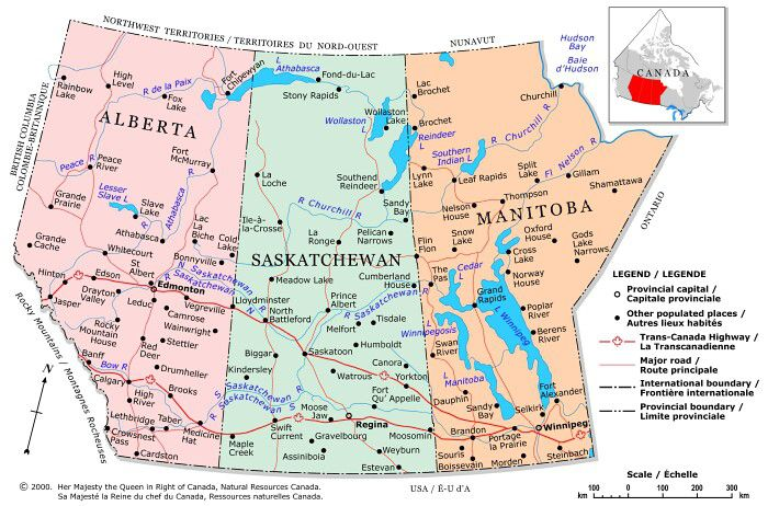 Plan Your Trip With These 20 Maps Of Canada: Map Of Provinces Of Canada At Infoasik.co