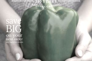 The cover of the 2018 Park Seed catalog