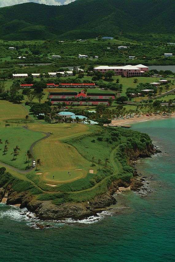 Photograph of the Buccaneer Golf Course, St. Croix, USVI