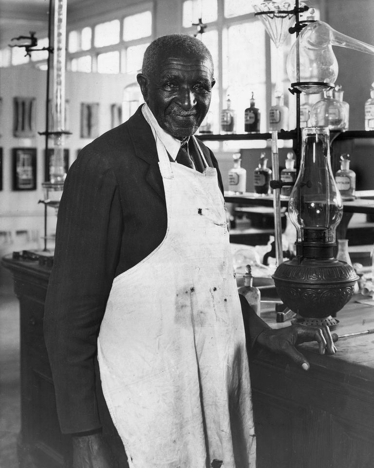Dr Carver circa 1935: American agriculture