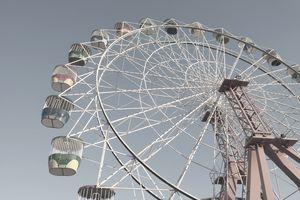 Ferris Wheel at Sidney Amusement Park