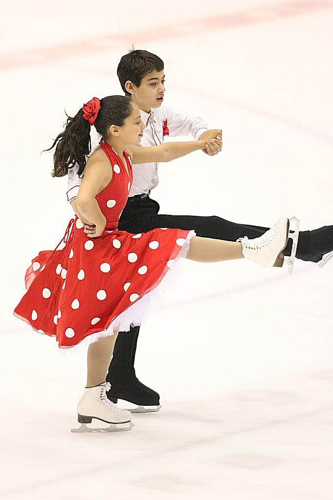Young Ice Dancers