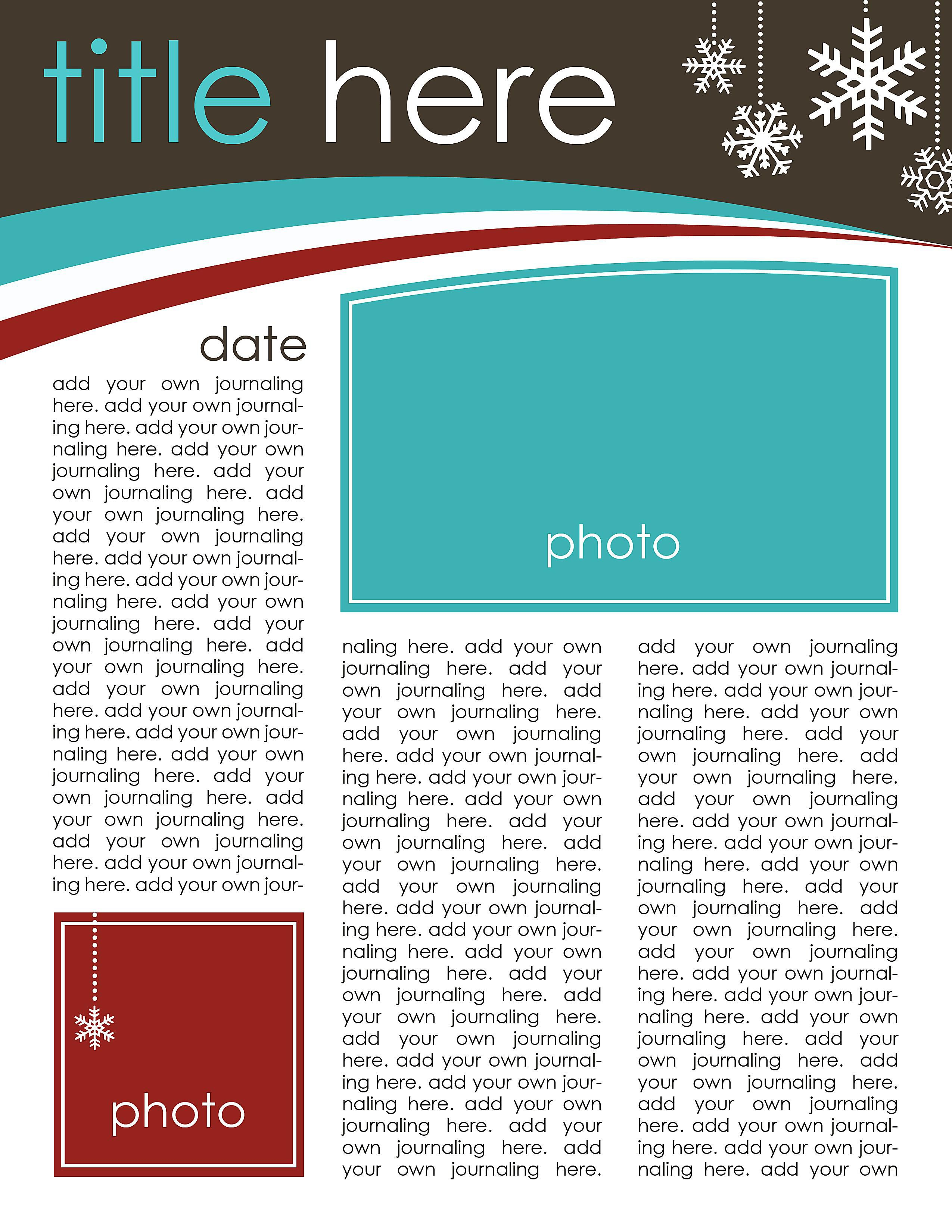 49 free christmas letter templates that youll love spiritdancerdesigns Image collections