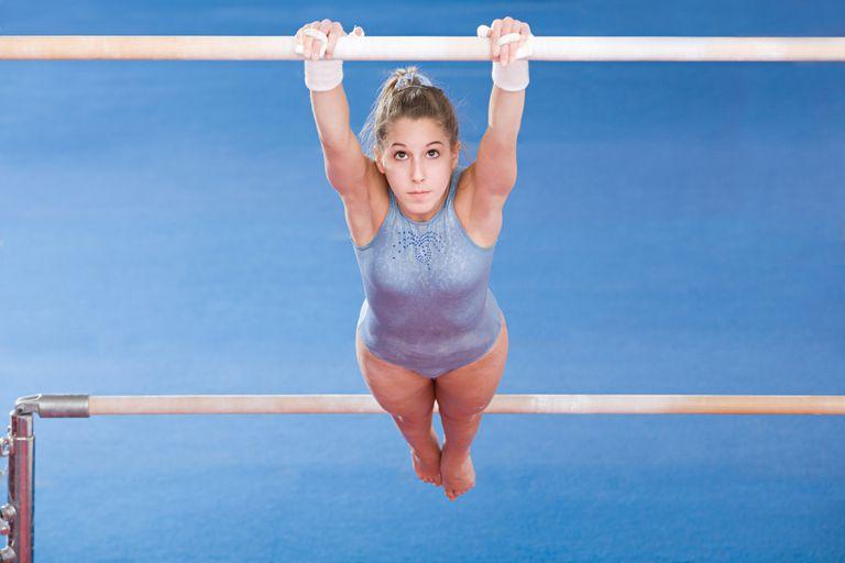 Teenage Gymnast