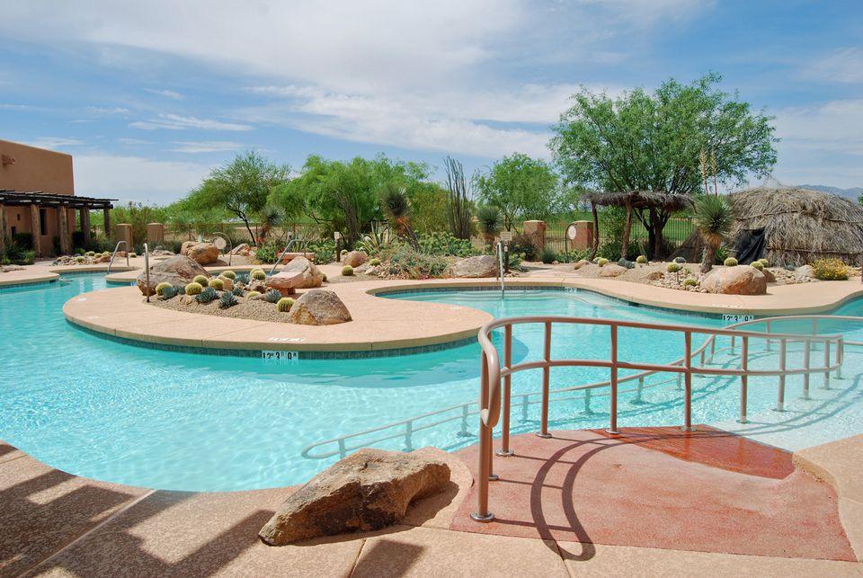 Pool at Aji Spa