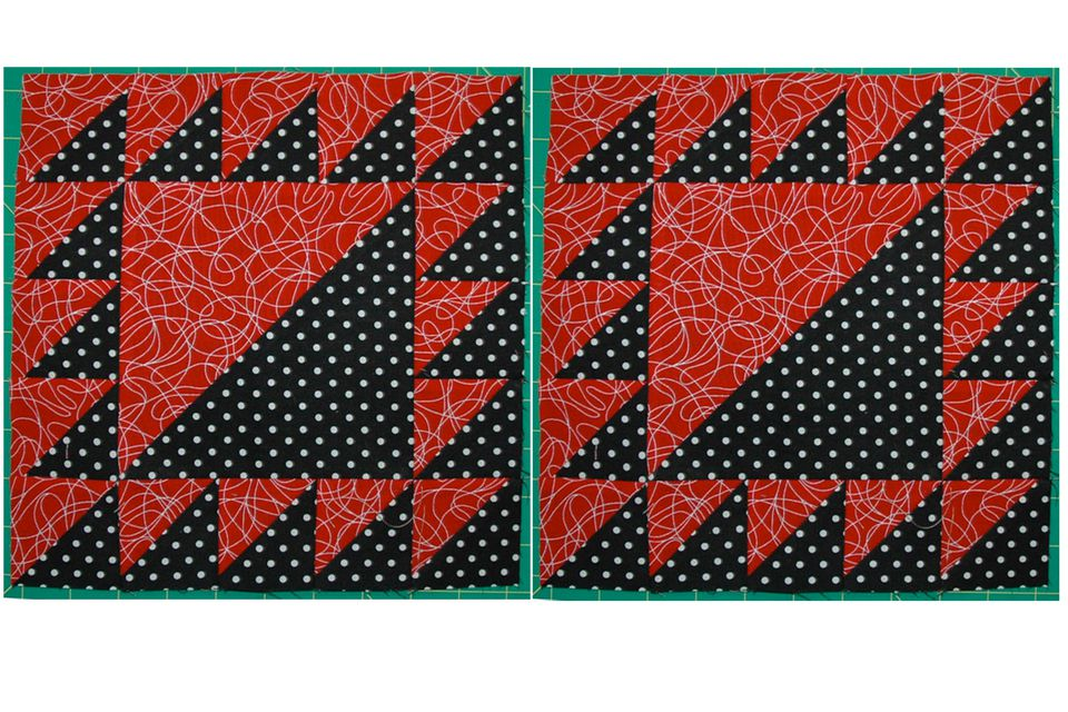 Lady of the Lake Quilt Block Pattern