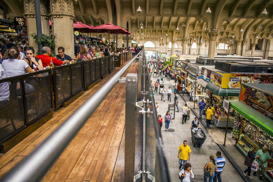 The Mercado Municipal in Sao Paolo