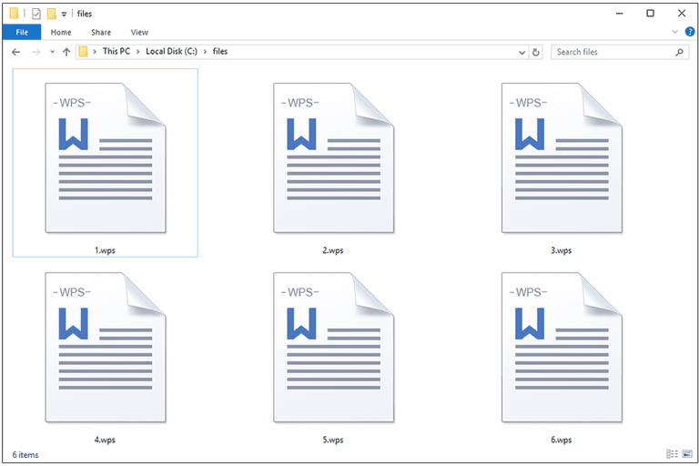 WPS Files