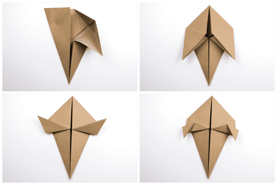 Origami Turkey Tutorial 3