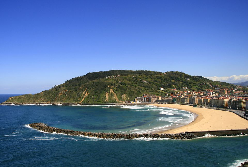 A view of San Sebastian from across the bay