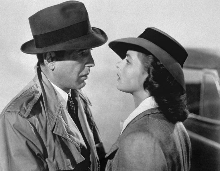 On the set of Casablanca