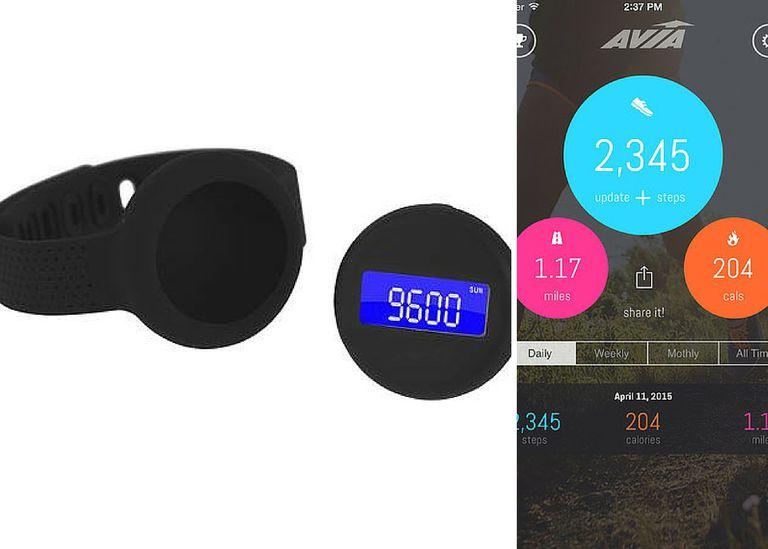 Avia Aspire band, tracker, and app