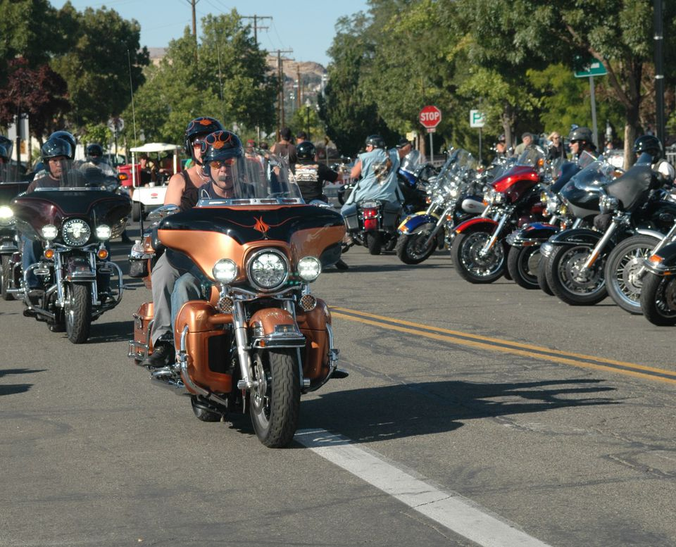 Street Vibrations Fall Rally at Victorian Square in Sparks, Nevada.
