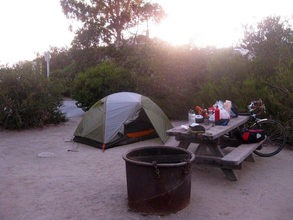 Southern California Beach Camping Spots