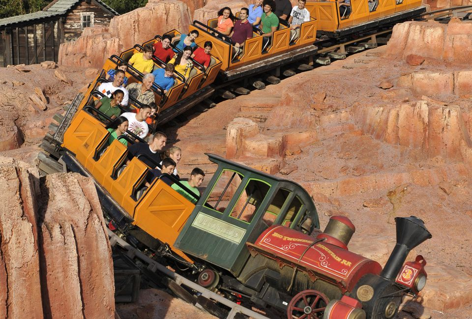 Big Thunder Mountain Railroad Disney World