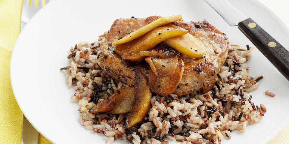 Pork and wild rice