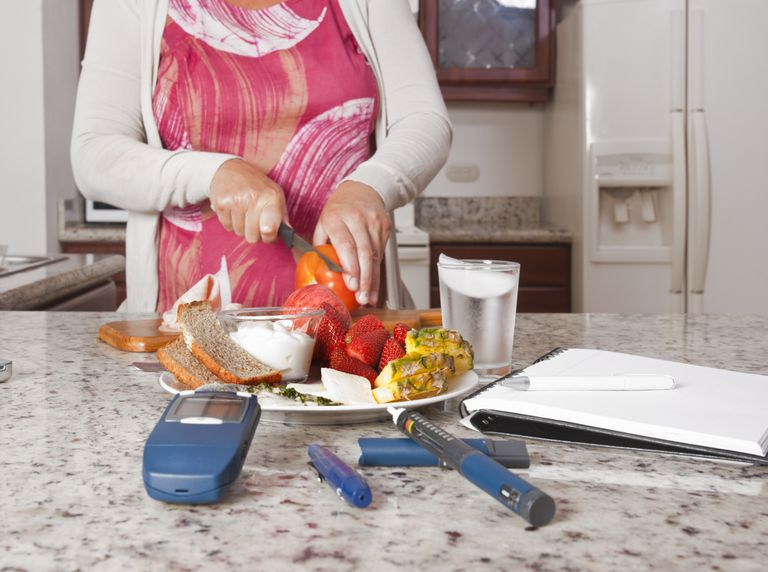 Following a consistent carbohydrate diet may help someone with diabetes.