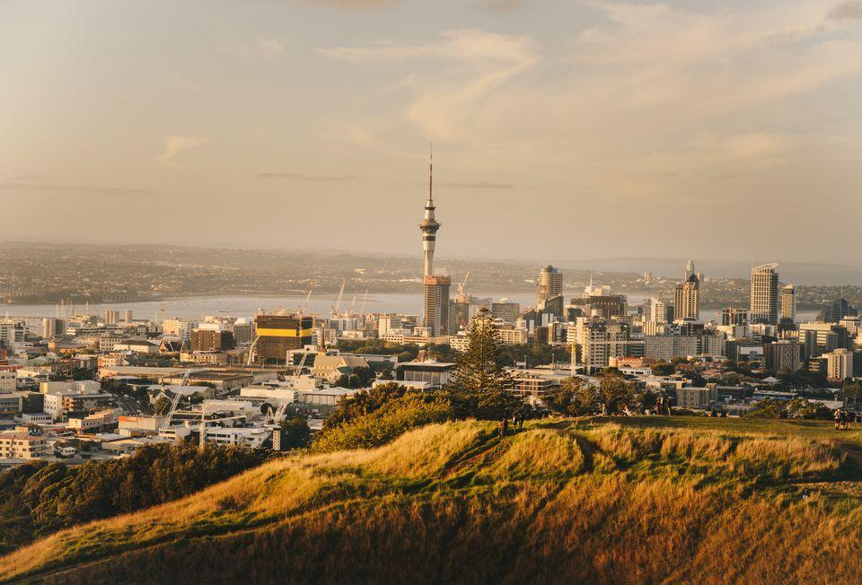 Auckland's cityscape.