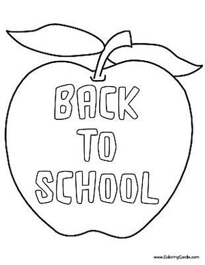 Free back to school coloring pages for Coloring pages for back to school