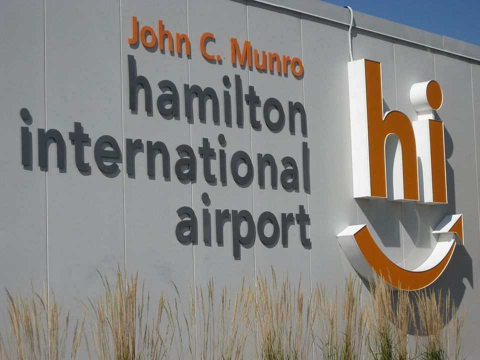 Hamilton International Airport in Ontario.