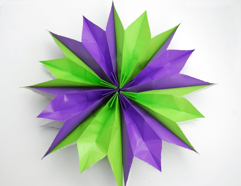 lunch bag paper star