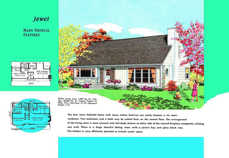 Cape Cod House Plans 177537 on Modern Two Bedroom House Plans