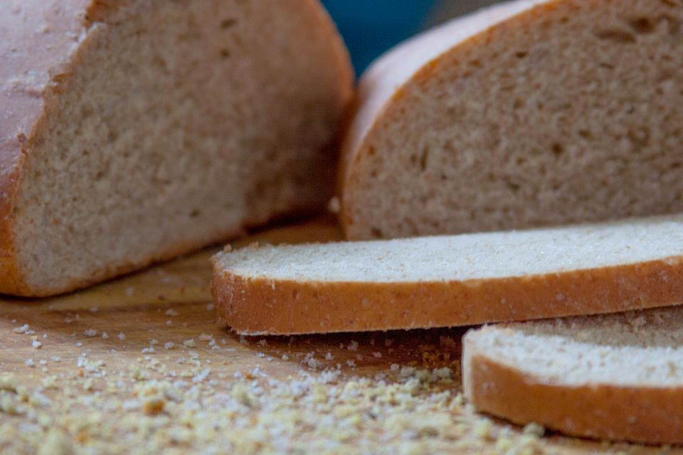 Crumbly Homemade Bread