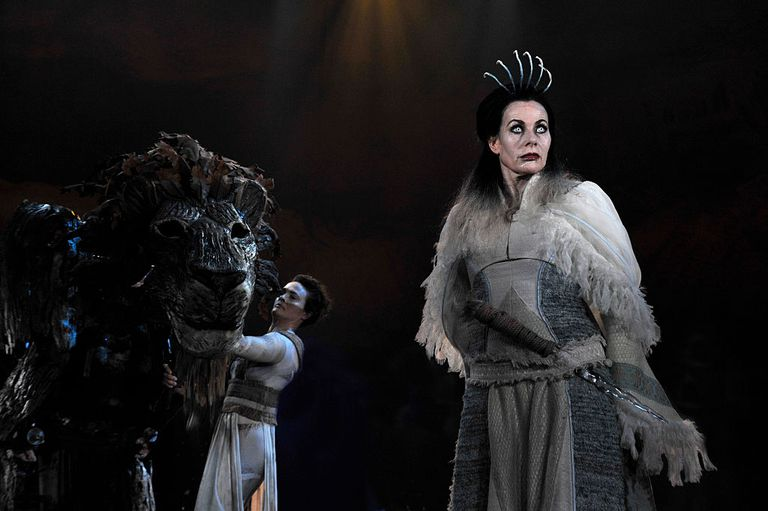 Scene from Lion Witch & Wardrobe Stage Play