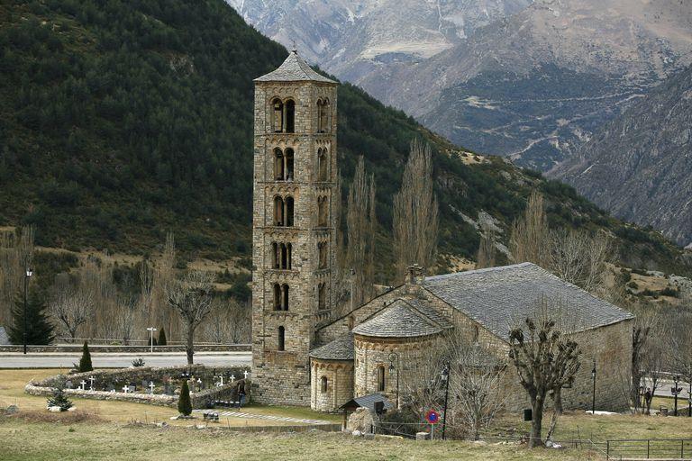 Romanesque Church of St Climent de Taüll, Catalonia, Spain