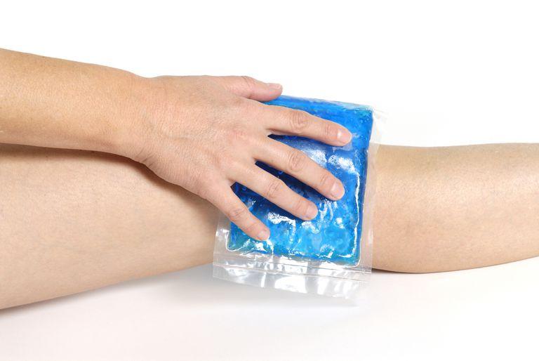 Icing arthritic pain