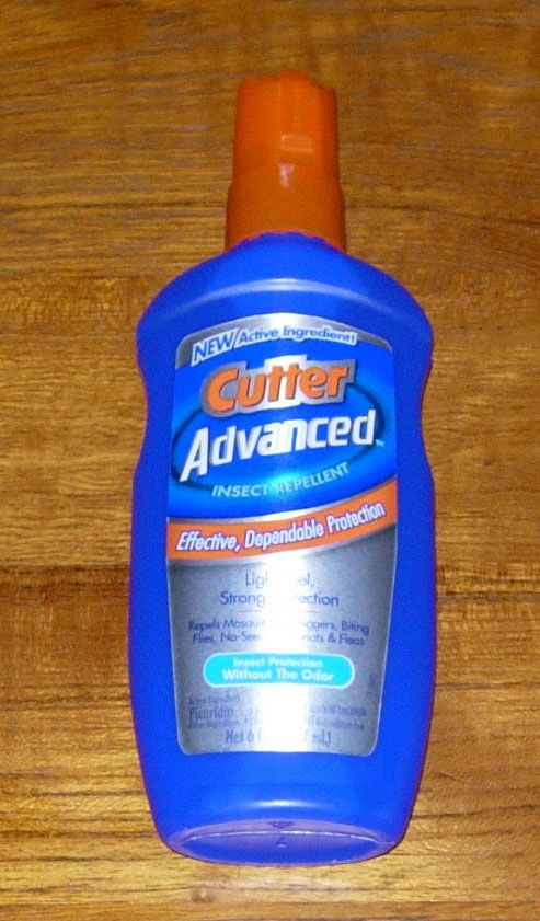 Cutter Advanced Picaridin Insect Repellent Pump Spray