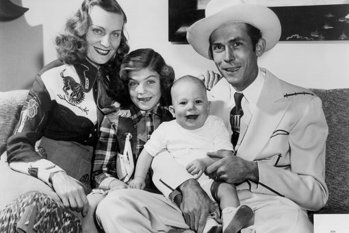 Hank Williams and his family
